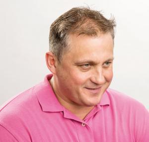 Darren Gough before